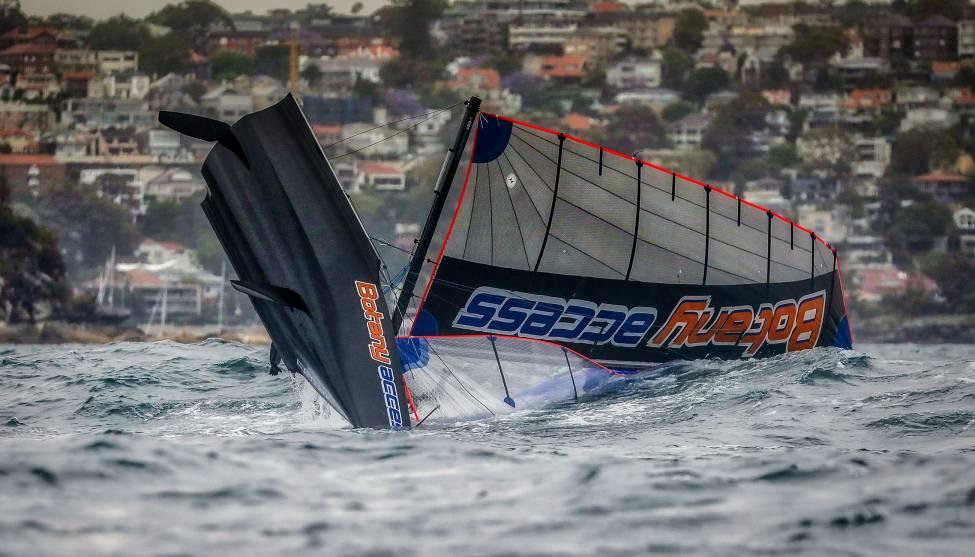 16 pieds australien skiff